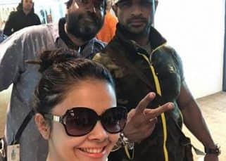 Saath Nibhaana Saathiya's Devoleena Bhattacharjee and Mohammad Nazim head to Singapore to shoot yet another leap - view pics