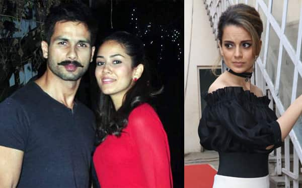 Why did Kangana write a personal letter to Shahid's wife Mira? Find out here