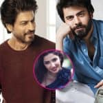 Mahira Khan was asked to compare Shah Rukh and Fawad and this is what happened next