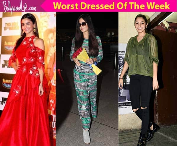 a681502b3 Katrina Kaif, Alia Bhatt, Anushka Sharma - meet the worst dressed celebs of  the week