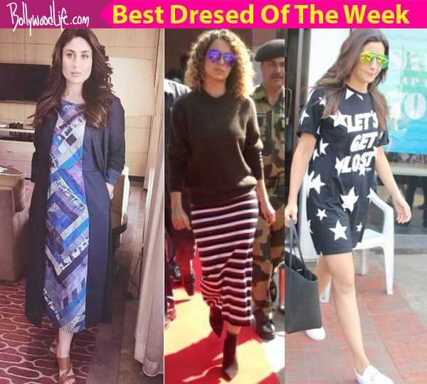 Kareena Kapoor Khan, Kangana Ranaut, Alia Bhatt – take a look at the best-dressed celebs of the week
