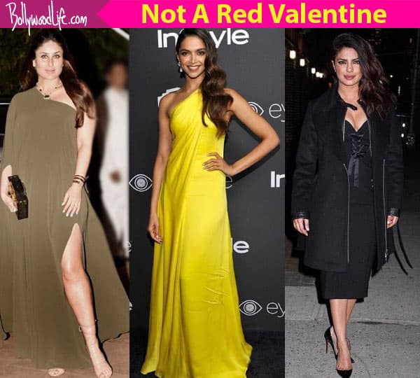 Time to DITCH red girls! Deepika Padukone, Kareena Kapoor Khan, Priyanka Chopra show you how to flaunt colours this Valentine's Day