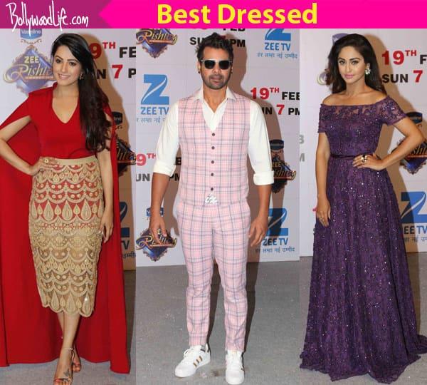 Krystle D'Souza, Anita Hassanandani, Ridhi Dogra, meet the best dressed stars at Zee Rishtey awards 2017 – view HQ pics