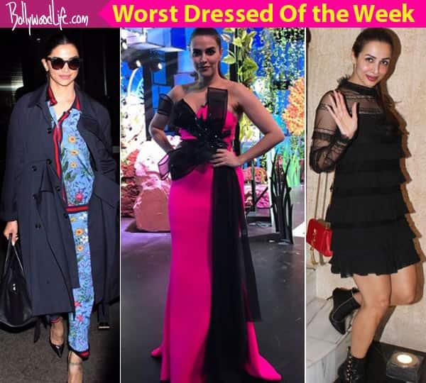 Deepika Padukone, Malaika Arora, Neha Dhupia – meet the worst dressed celebs of the week