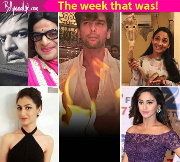 Kushal Tandon's fire stunt, Sriti Jha's transformation in Kumkum Bhagya, Karan Patel's Gulabo avatar – TV newsmakers this week