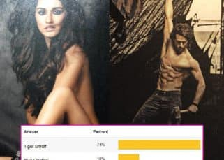 Tiger Shroff beats girlfriend Disha Patani to be the most smashing debutante on the Dabbo Ratnani 2017 calendar