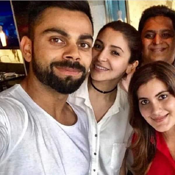Leaked pic! Anushka Sharma and Virat Kohli go on a secret lunch date