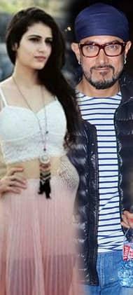 सना फातिमा शेख को मिल गयी आमिर की 'ठग्स ऑफ़ हिन्दोस्तान'!