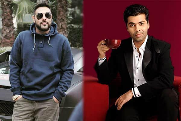 badshah-and-karan-johaer