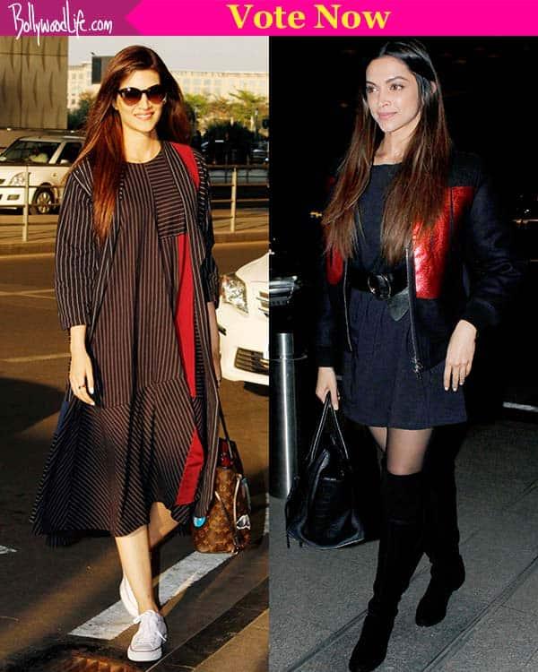 Deepika Padukone wears 'LOVE' on her sleeves while Kriti Sanon channels Alia Bhatt – view HQ pics