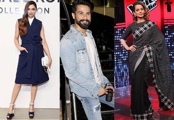 Deepika Padukone, Shahid Kapoor, Kangana Ranaut – meet the best dressed celebs of the week