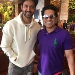 This fan moment of Hrithik Roshan with Sachin Tendulkar proves he's just like us - view pic