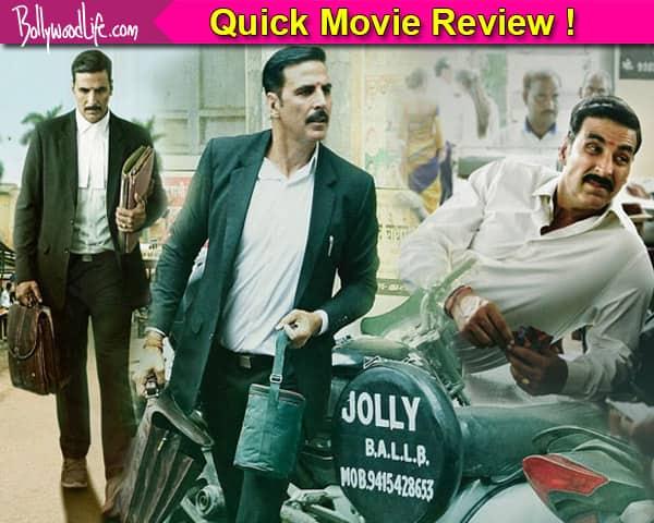 Jolly LLB 2 Quick Moive Review In Hindi: Akshay Kumar, Huma Qureshi starer this drama is interesting