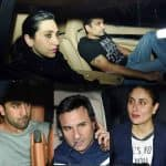 Karisma Kapur and boyfriend Sandeep Toshniwal party with Ranbir Kapoor, Saif Alia Khan and Kareena Kapoor - view HQ pics