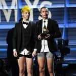 Grammy 2017: Twenty One Pilots get rid of their pants after winning their first trophy