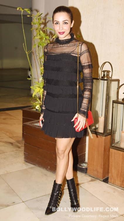 Malaika Arora Arjun Kapoor And Karan Johar Spotted At