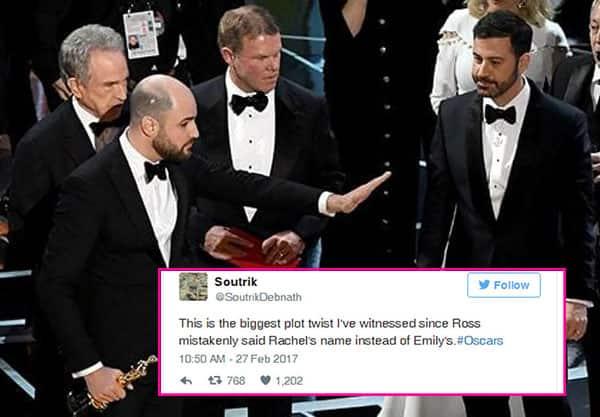 Oscars 2017: 15 of the best digs taken at the Moonlight – La La Land fiasco by Twitterati!