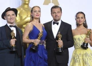 Leonardo DiCaprio, Brie Larson, Alicia Vikander to return to Oscars 2017 as award presenters