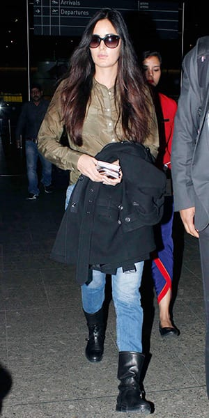 Katrina Kaif looks grumpy as she returns from Dubai