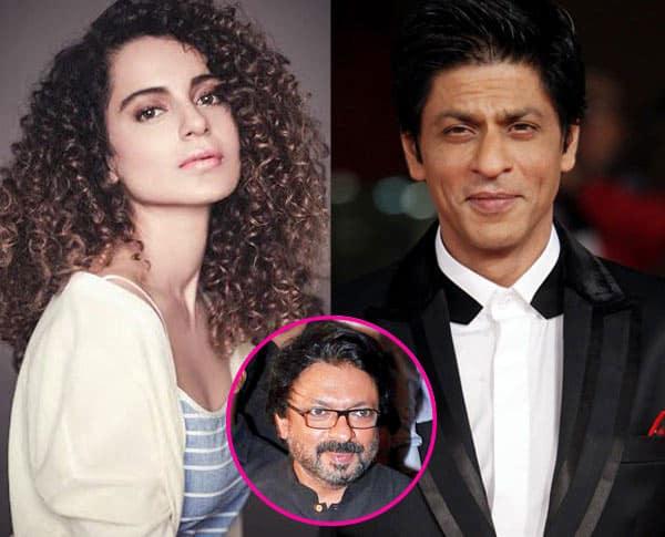 Shah Rukh Khan plays down rumours that he REFUSED to work with Kangana Ranaut in Sanjay Leela Bhansali's next