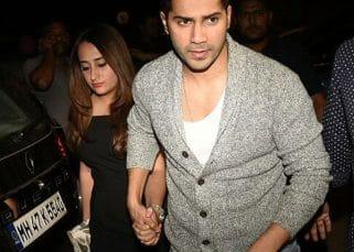 Varun Dhawan and girlfriend Natasha Dalal make it OFFICIAL; enter hand in hand Shahid Kapoor's pre birthday bash- view HQ pics
