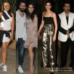 Deepika Padukone, Karan Johar, Sonakshi Sinha make it to Shahid Kapoor's pre birthday bash- view HQ pics