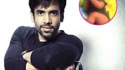 Seeing Tusshar Kapoor's baby boy Laksshay take his first turn is pure joy