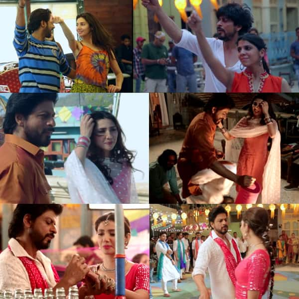 Shah Rukh Khan and Mahira Khan's Raees song Udi Udi jaye making is out, Watch Video