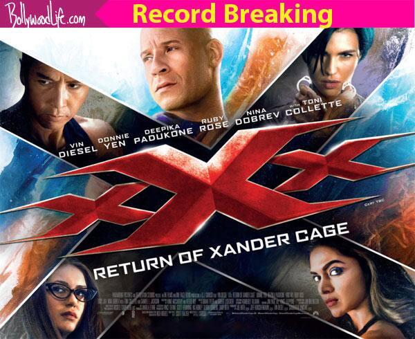 Deepika Padukone's xXx: Return Of Xander Cage rocks China box office, earns record breaking $61.9 million in just 3 days