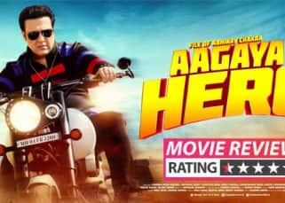 Aa Gaya Hero movie review: Govinda's attempt at being a masala hero will make a mess of your brains