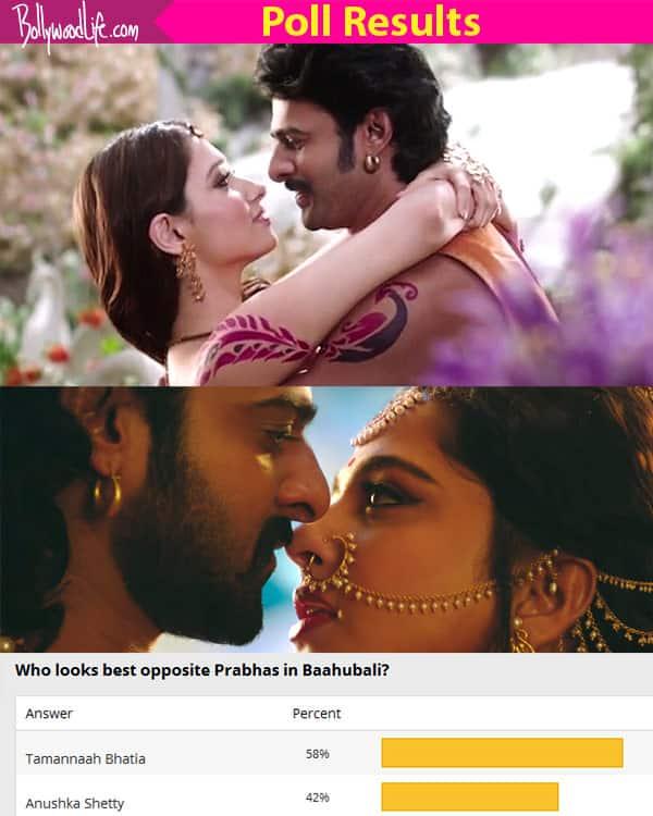 Fans prefer Tamannaah opposite Prabhas than Anushka Shetty in Baahubali