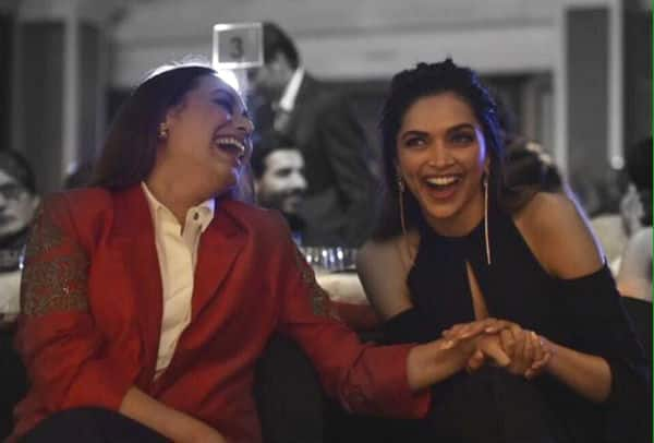 How heartwarming is it to see Deepika Padukone and Rani Mukerji bonding like BFFs? View pic