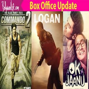 Hugh Jackman's Logan BEATS Vidyut Jammwal's Commando 2 and Shraddha Kapoor's Ok Jaanu AGAIN!
