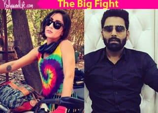Bigg Boss 10 contestants Manveer Gurjar - Akanksha Sharma enter into a war of words