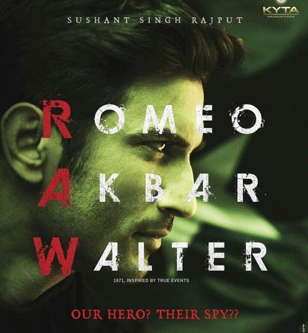 Sushant Singh Rajput Releases The First Look Of 'Romeo Akhbar Walter'