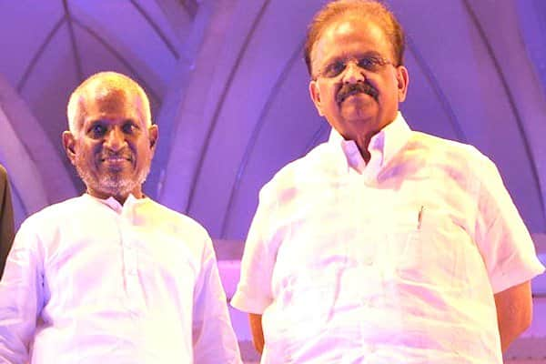 Ilayaraja sends legal notice to SP Balasubrahmanyam to prevent him from singing the music maestro's songs