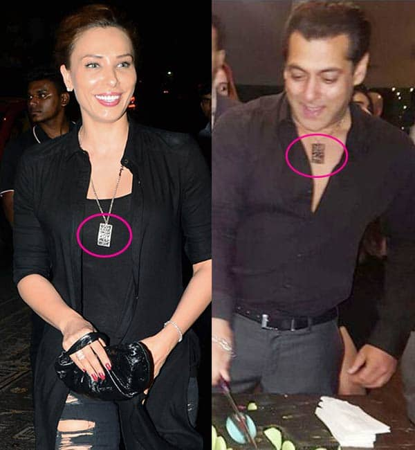 Iulia Vantur wears a locket similar to Salman Khan and we can't stop thinking about it
