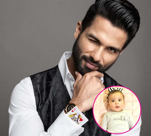 Cuteness is just overloaded of Shahid kapoor' daughter