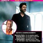 Did you know that Shah Rukh Khan was involved in the scripting of Munna Bhai MBBS? - watch video