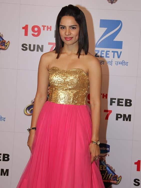Sikha-Singh-aka-Alia-from-Kumkum-Bhagya-at-Zee-TV's-Zee-Rishtey-Awards