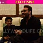 BollywoodLife Initiative: Lion star Sunny Pawar finally met his screen idol Ajay Devgn and here's what happened