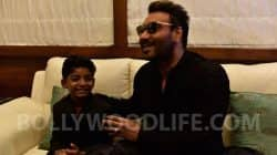 Sunny Pawar made a request to BollywoodLife that he wants to meet his favourite actor Ajay Devgn and we made it happen…