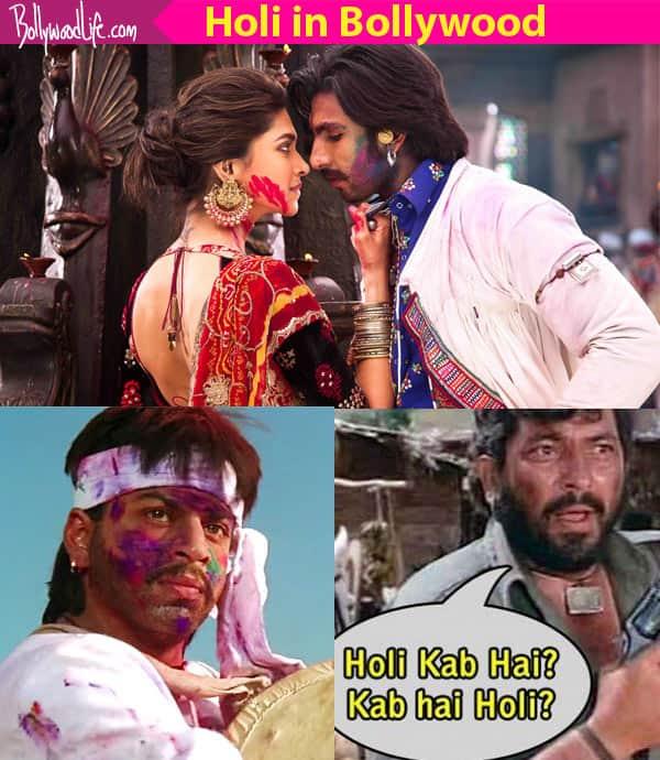 7 movies starring Amitabh Bachchan, Shah Rukh Khan, Deepika Padukone where Holi played a very crucial role