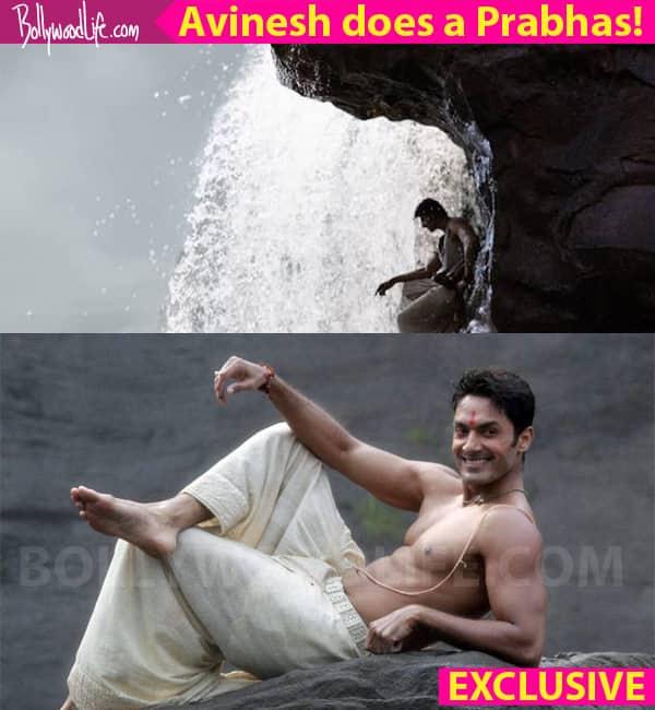 Tu Sooraj Main Saanjh Piyaji: Avinesh Rekhi recreates Prabhas' Baahubali waterfall scene to drool-worthy effect!