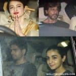 Shah Rukh Khan, Rekha, Alia Bhatt, Sidharth Malhotra spotted at the special screening of Phillauri - view HQ pics