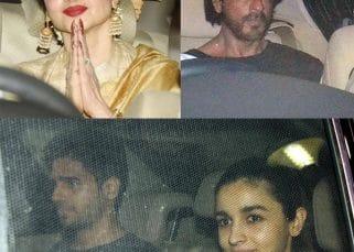Shah Rukh Khan, Rekha, Alia Bhatt, Sidharth Malhotra spotted at the special screening of Phillauri - view HQ pics