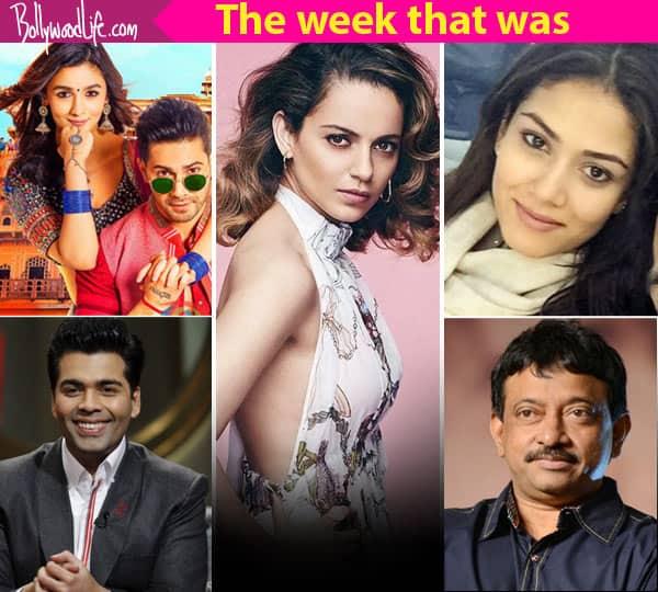 Kangana Ranaut, Karan Johar, Mira Rajput – meet the top 5 newsmakers of the week