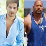 Dear Dwayne Johnson, here's what Varun Dhawan would like to do if he gets to meet you
