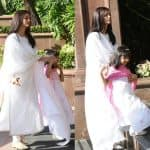 Aaradhya attends Aishwarya Rai Bachchan's father's chautha - view HQ pics