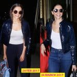 Deepika Padukone REPEATS her airport look; we wonder if this is her new favourite - view HQ pics